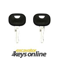 New 2 John Deere / Liebherr Master Keys