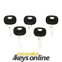 New 5 John Deere 606 / Liebherr Master Keys