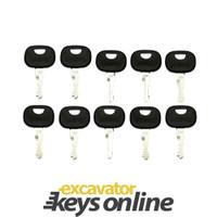 New 10 John Deere (606) / Liebherr Master Keys