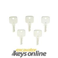 John Deere JD Key (Set of 5)