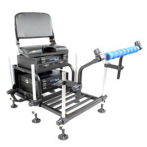 KOALA PRODUCTS TEAM MATCH STATION SEAT BOX + SWIVEL BACK REST + SPRAY BAR