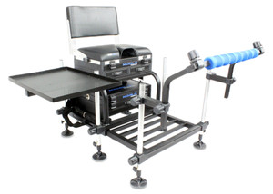 Koala, Products, TEAM, Match, Station, Seatbox, Back, Rest, Spray, Bar, Side, Tray, fishing, seat, box