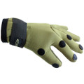 DIRT BOOT NEOPRENE FISHING GREEN GLOVES FOLDING FINGERS SHOOTING HUNTING M L XL