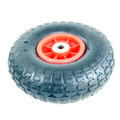 "FISHING TROLLEY WHEEL GO CART PNEUMATIC JOCKEY 260mm. (approx. 10"") dia."