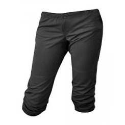Intensity N5300Y Girl's Low Rise Softball Pants Black