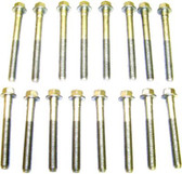 1987 Oldsmobile Cutlass Cruiser 2.8L Engine Cylinder Head Bolt Set HBK3131 -44