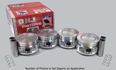 2012 Ford Fusion 2.5L Engine Piston Set P484 -19