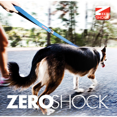Zero Shock Technology reduces the strain on the dog and owner!