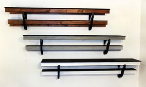 Three Big Bear shelves with custom installation