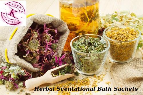 Herbal Scentational Bath Sachets