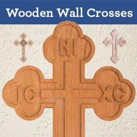 Wooden Wall Crosses