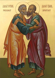 Saints Peter and Paul, large icon