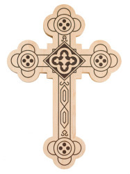 Antiochian Wood Wall Cross