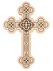 Antiochian Wood Wall Cross