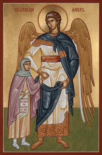 Guardian Angel with Girl, medium icon