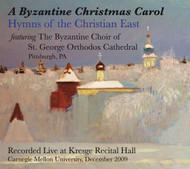 CD  Byzantine Christmas Carol