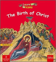 Birth of Christ in Icons, board book for children