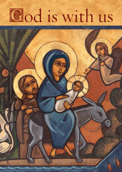 Flight to Egypt (God is with us), individual card