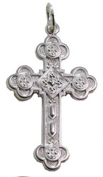 Antiochian Cross, sterling silver, medium