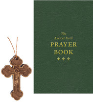 Prayer Gift Set: The Ancient Faith Prayer Book / Wood Neck Cross