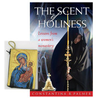 For Mom: Scent of Holiness / Tapestry pouch, icon of the Virgin of Tenderness