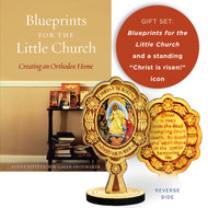The Little Church Gift Set: Blueprints for the Little Church / Resurrection icon
