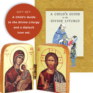 For Toddler: A Child's Guide to the Divine Liturgy / Diptych, Christ and Mother of God