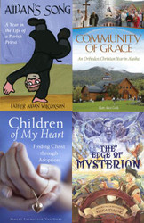 Clearance Bundle: Aidan's Song, Community of Grace, Children of My Heart, and Edge of Mysterion. Buy all four books for only $10!