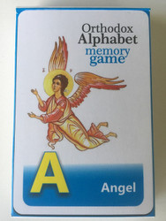 Orthodox Alphabet Memory Game