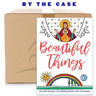 Beautiful Things: An Orthodox Coloring Book for Children (case of 64)