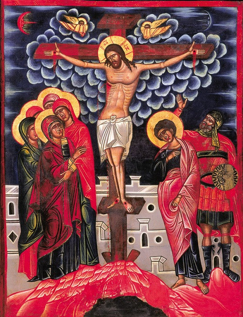 The Crucifixion, large icon