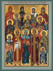 Handmaidens of the Lord, large icon