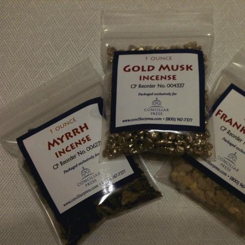 myrrh incense, 1 ounce package
