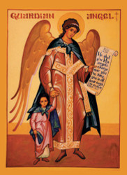 Guardian Angel with Girl, medium icon