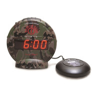 Sonic Alert Bunker Bomb SBC575SS Vibrating Alarm Clock