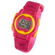 Global VibraLITE MINI Vibrating Watch with Hot Pink Band