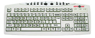 Keys-U-See Large Print Keyboard-Ivory by AbleNet
