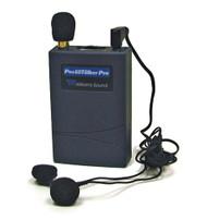Williams Sound Pocketalker Pro Personal Sound Amplifier with Dual Mini Earphone E14
