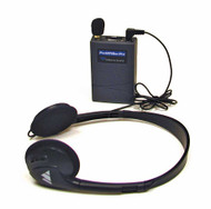 Williams Sound Pocketalker Pro Personal Sound Amplifier with Deluxe Folding Headphone H21