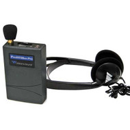 Williams Sound Pocketalker Pro Personal Sound Amplifier with Heavy Duty Folding Headphone H27