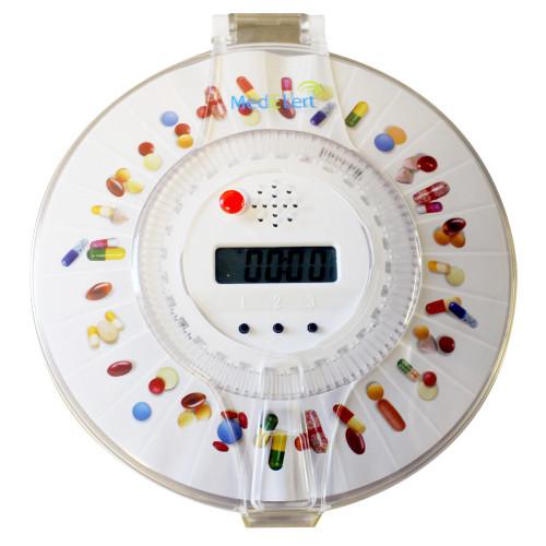 Med-E-Lert Automatic 6 Alarm Pill Dispenser