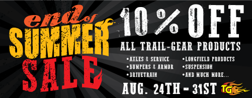 We are a full Trail Gear Vendor. Just call and as we can get it for you.