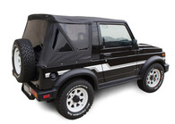 Rampage Black Diamond w/Zip-Out Tinted Windows Replacement Top