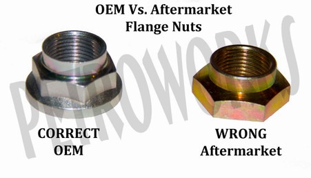 Suzuki Differential Flange Nuts