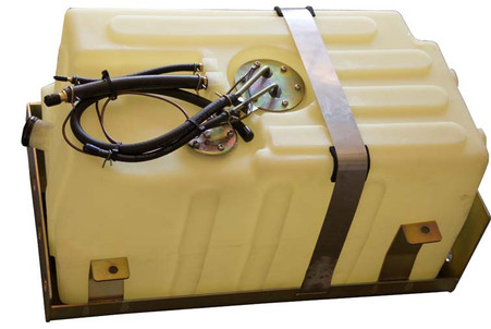 15 Gallon Suzuki Samurai Fuel Tank - Opac color. Black is also available.
