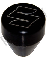 "Black Anodized ""S"" Pattern Shift Knob"