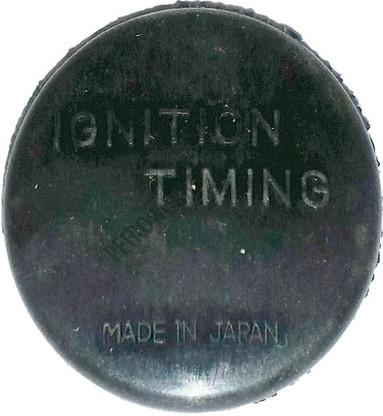 Transmission timing plug