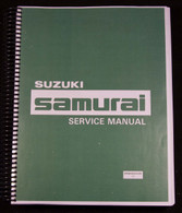 Suzuki Samurai  Factory Service Manual - 1986-1988