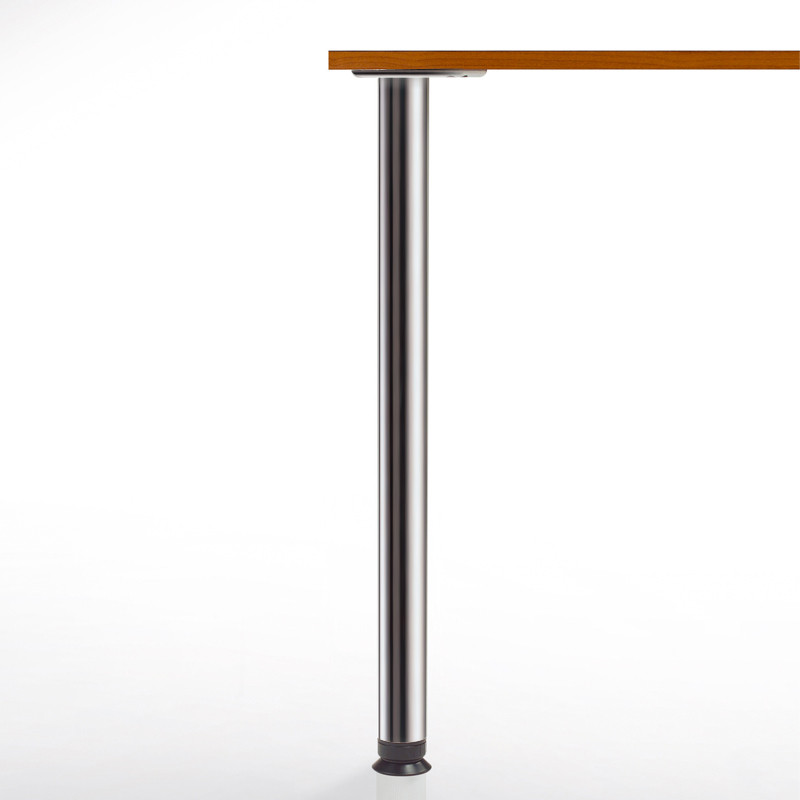 Counter Height Metal Table Legs : Zoom Table Leg, 34-1/4 Counter Height, 2-3/8 diameter leg...