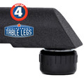"Table Shox, ABS Plastic Table Lever, 1/4"" x 20 tread - www.replacementtablelegs.com"